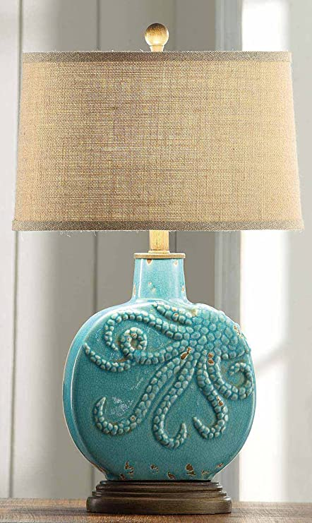 Deep ocean table lamp