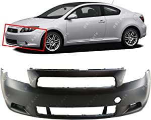 BUMPERS THAT DELIVER - Primered, Front Bumper Cover Fascia for 2005-2010 Scion Tc 05-10, SC1000103