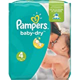 Pampers Baby-Dry Nappies Monthly Saving Pack - Size 4, Pack of 174