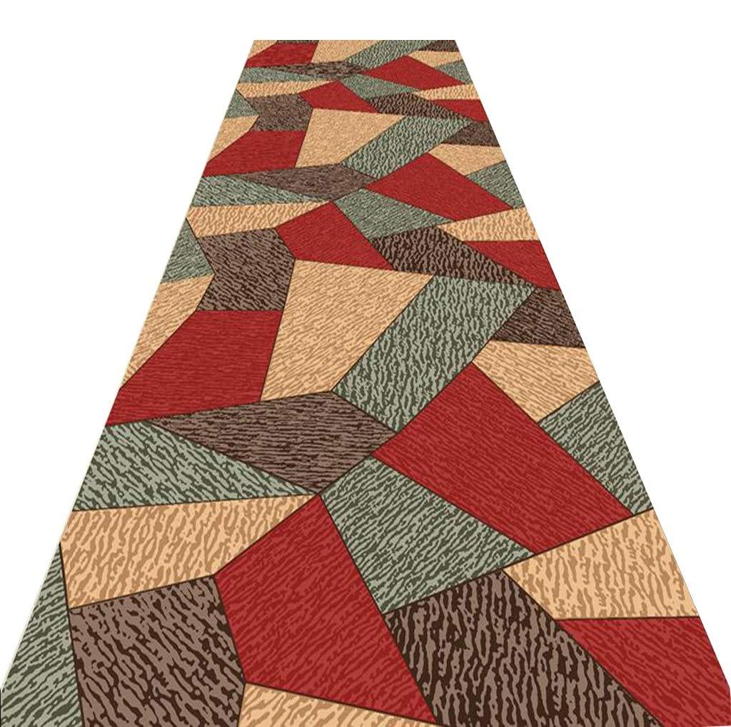 Mbd Corridor Strip Carpet Home Door Mat Bathroom Mat Entry Door Bathroom Toilet Door Mat (Color : A, Size : 1.26m) by Mbd (Image #1)