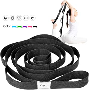 Amazon.com: JBM - Correa elástica para yoga, 5.9 ft, 7.9 ft ...