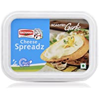 Britannia Cheese Spreadz - Roasted Garlic, 180g Box