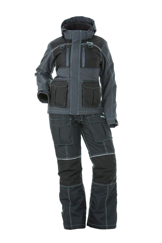 DSG Outerwear Arctic Appeal Ice Drop Seat Bib Black//Aqua