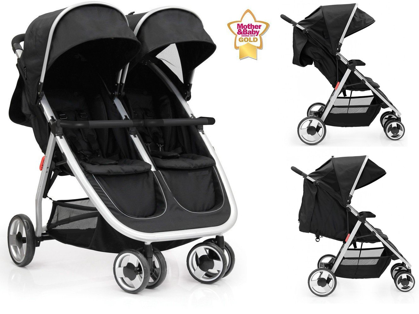 Star Ibaby Twin Air - Carro gemelar: Amazon.es: Bebé