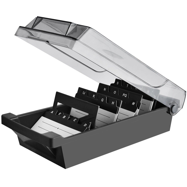 Maxgear Business Card Holder Box Business Card File Card Storage Box