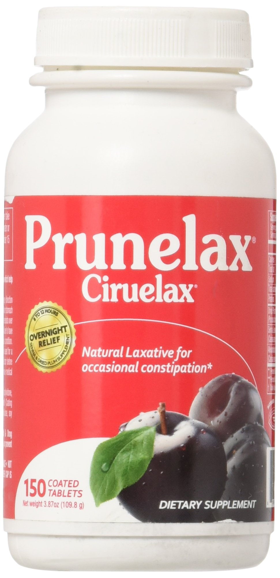Amazon.com: Prunelax Ciruelax Laxative, Tablets 150 ea: Health & Personal Care