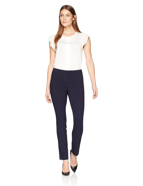 Comfort Fit Lark /& Ro Womens Slim Leg Stretch Pant