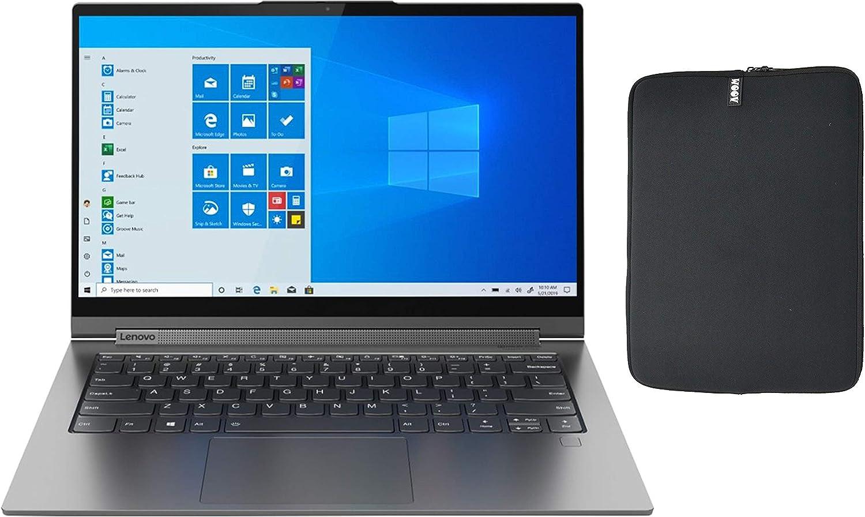 "Lenovo Yoga C940 2-in-1 14"" FHD Touchscreen Laptop| Backlit Keyboard| Core i7-1065G7| USB-C| Thunderbolt 3| Intel Iris Plus Graphics| Win 10| with Woov Sleeve (12GB RAM | 1TB PCIe SSD | WOOV Sleeve)"
