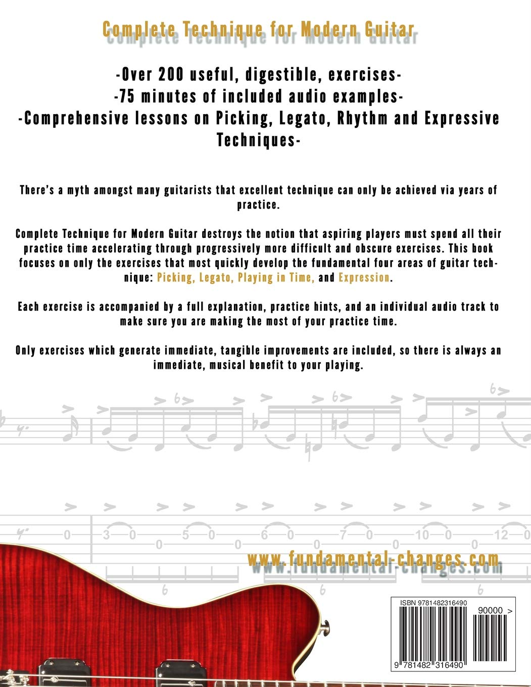 Complete Technique for Modern Guitar: Amazon.es: Alexander, Mr ...