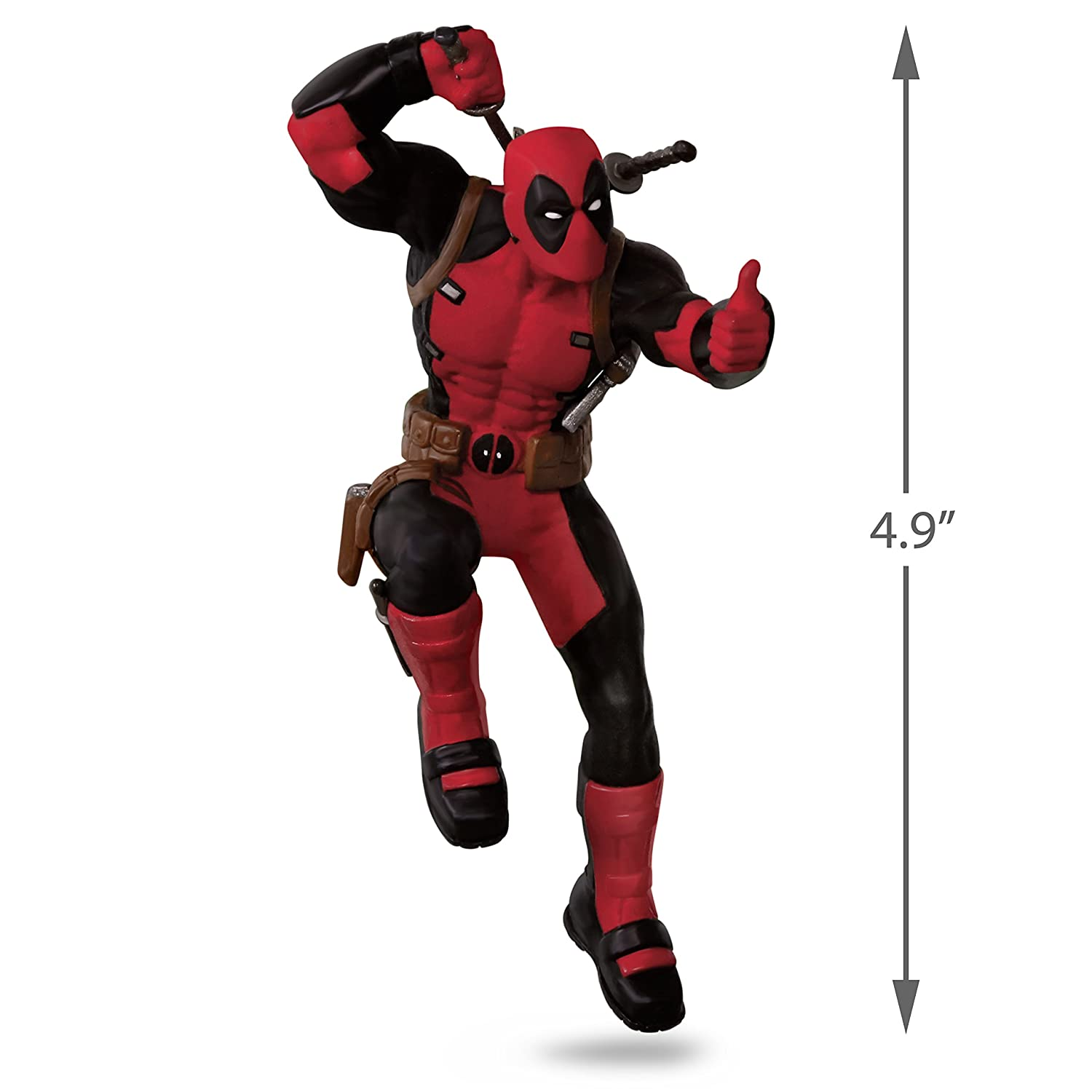 Amazon.com: Hallmark Keepsake 2017 Deadpool Christmas Ornament: Home ...