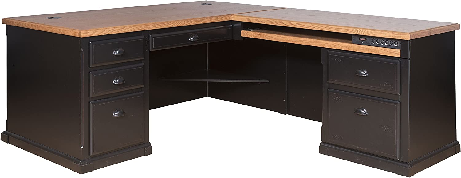 Martin Furniture Southampton Right L-Shaped Desk