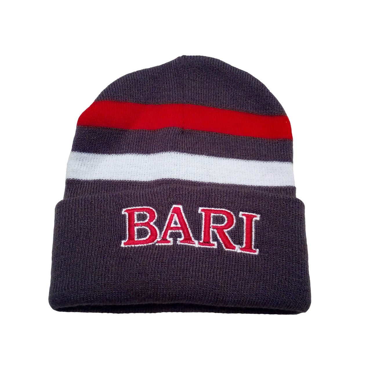 vendita economica comprare a buon mercato selezione migliore Bari berretto cuffia cappello calcio supporters - One size, Grigio ...