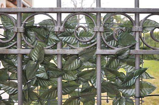 Verdelook Sempreverde® - Seto Artificial de Doble Cara, 1 x 3 m, para decoración de jardín: Amazon.es: Jardín