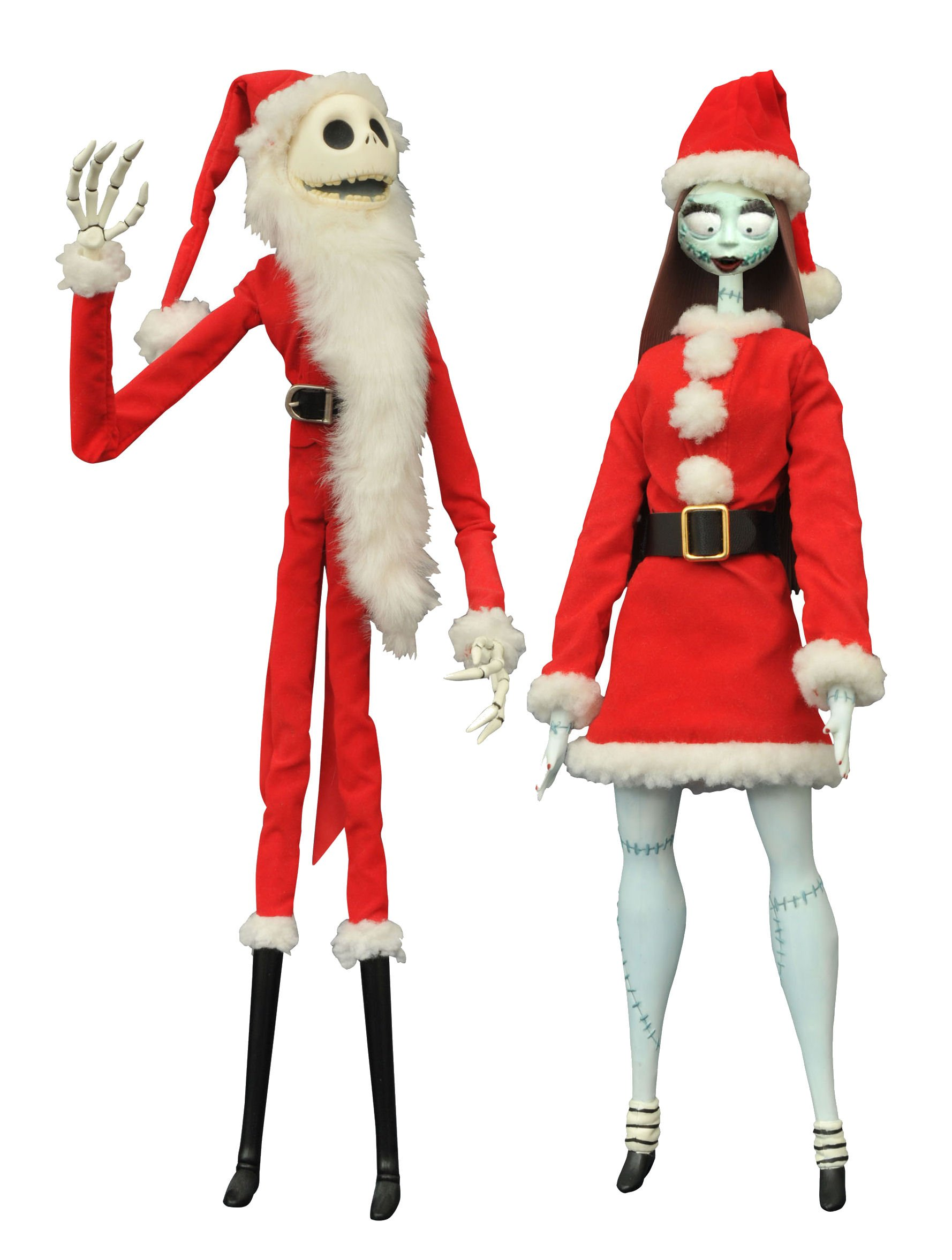 Diamond Select Toys The Nightmare Before Christmas: Santa Jack Santa ...