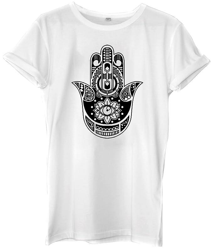 Hamsa Hand 90S VTG BOHO KITSCH Urabn Mens Womens Unisex T-shirt