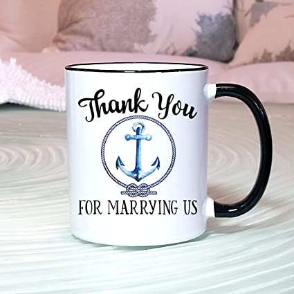 Amazon Beaumug Wedding Officiant Gift Thank You For Marrying