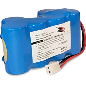 ZZcell Battery for Euro Pro Shark Vacuum Carpet and Carpet Sweeper XB1918, V1917, V1950, VX3