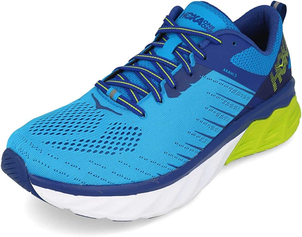 Hoka Arahi 3, Zapatillas de Running por Hombre, Azul (DresdenBlue/SodaliteBlue DBSTB), 41 1/3 EU: Amazon.es: Zapatos y complementos