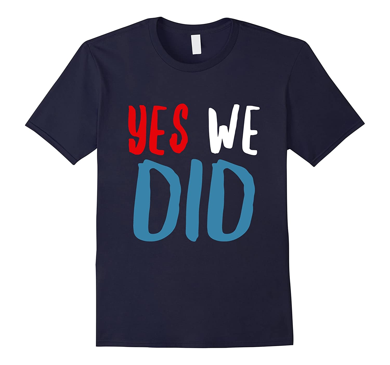 Barack Obama Farewell - Yes We Did T-Shirt-CL