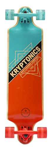 Kryptonics Drop Down Longboard Complete Skateboard