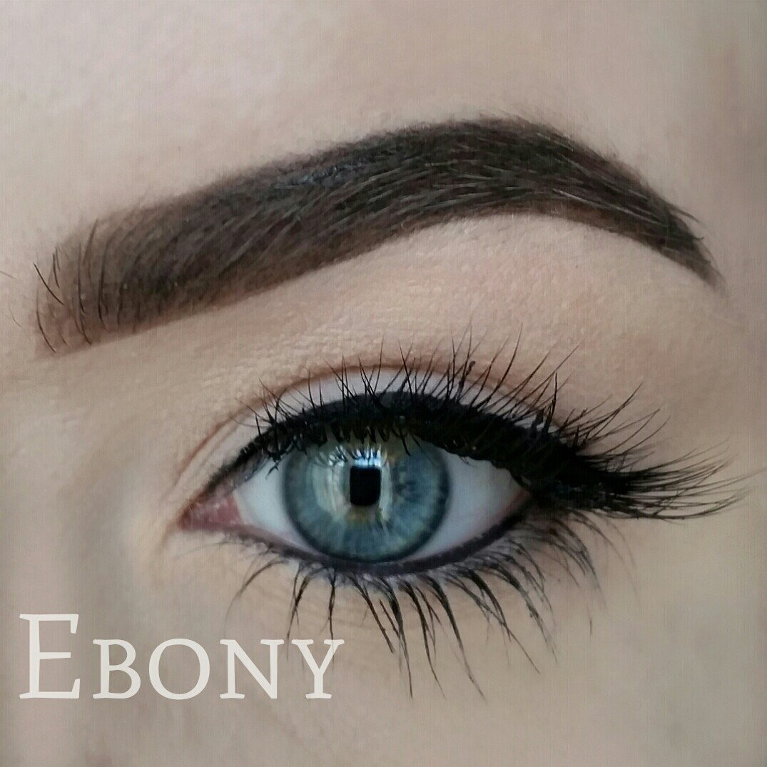 What does ebony eyes mean