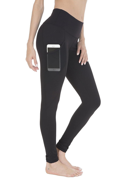 Queenie Ke Women Power Stretch Plus Size High Waist Yoga Pants Running Tights QK60126TPANT