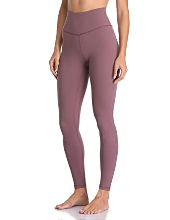 d09371a256860 Colorfulkoala Women's Buttery Soft High Waisted Yoga Pants Full-Length  Leggings (XS, Dusty