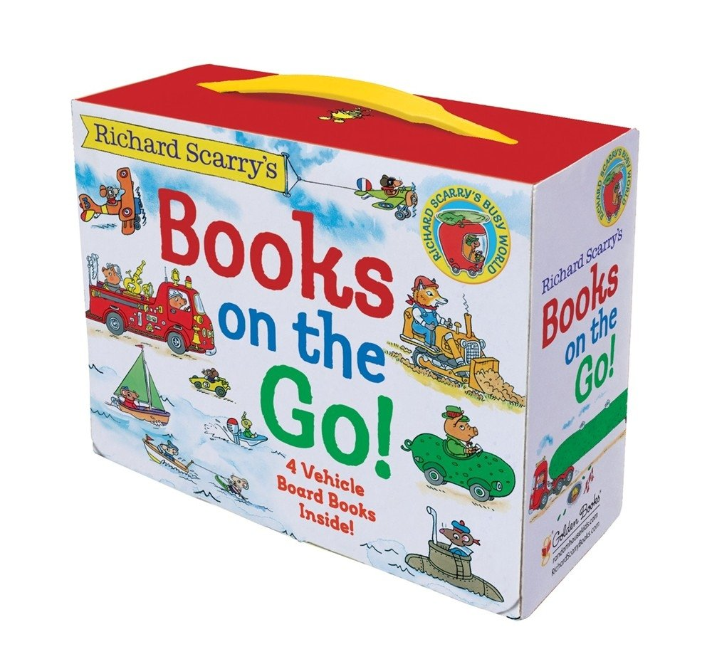 Richard Scarry's Books on the Go by Golden Books (Image #1)