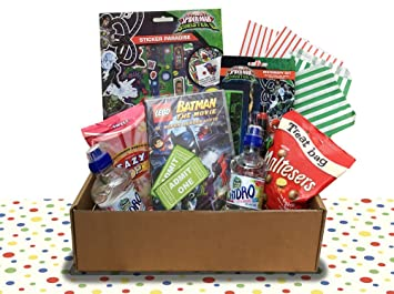 Unique Kids Birthday Gift Superheroes Batman Spiderman Box