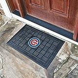 """Team Fan Gear Fanmats Chicago Cubs Medallion Door Mat Size=19""""x30"""" MLB-11293"""