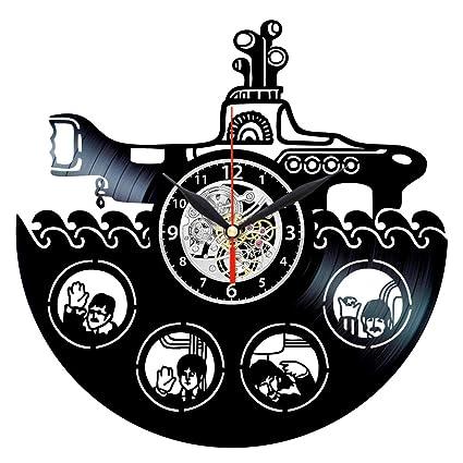 Amazon Com The Beatles Yellow Submarine Clock Music Vinyl Record