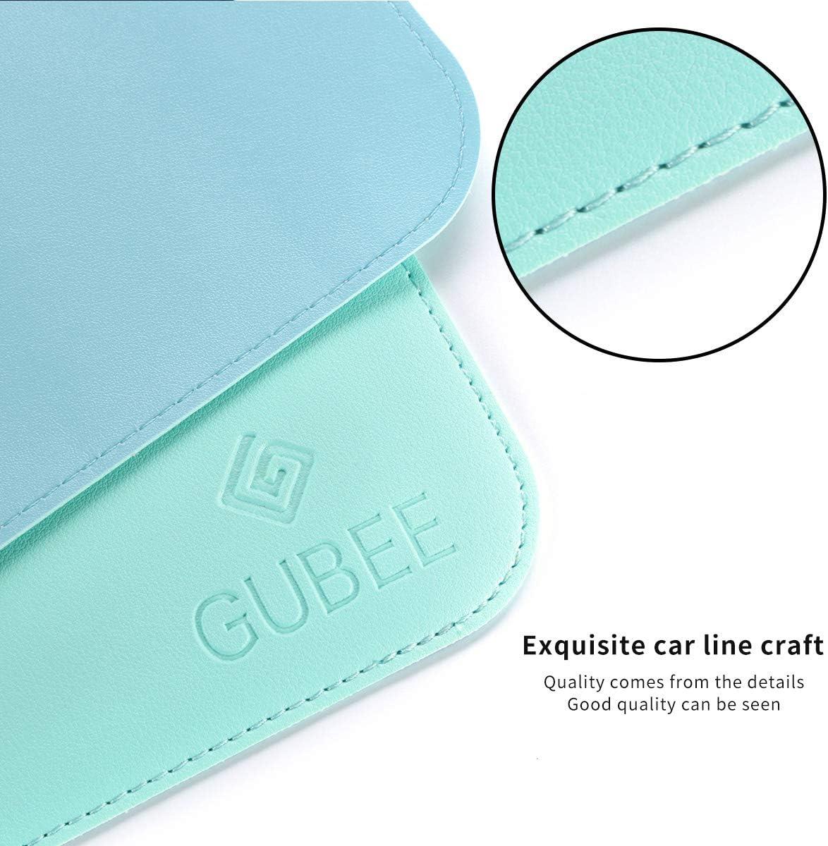 Blu Casa e Viaggi-Large Size 900x400x2mm GUBEE PU Cuoio Pad da Ufficio Multifunzionale,Impermeabile Antiscivolo Anti-Sporco Tappetini Mouse per Ufficio