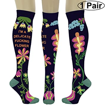 ea0152b7d6 Compression Socks for Men & Women 20-30 mmHg Medical Graduated Compression  Stockings for Sports