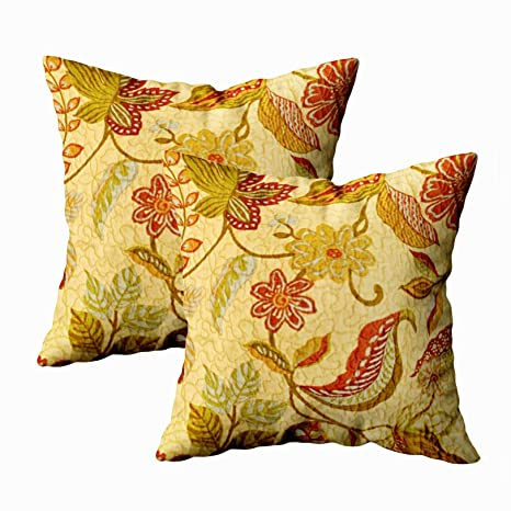 Amazon.com: Fundas de almohada con cremallera corta, 16 x 16 ...