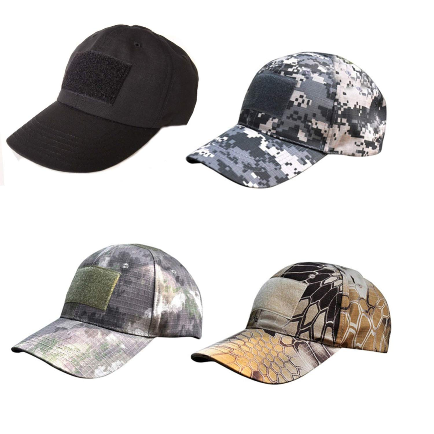 CHENTAI Camouflage Flag Patch Baseball Cap Men Outdoor Sporting Caps Tactical Nylon Fastener Tape Design Hats