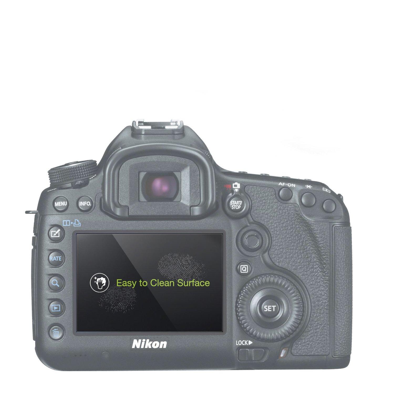 MegaGear C/ámaras Protector de Pantalla LCD Nikon