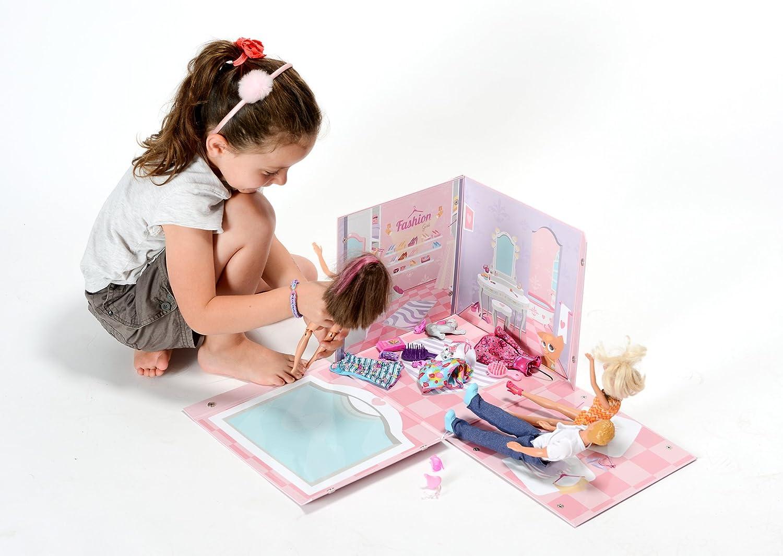064560 Ameublement Et D/écoration Fashion Girl My Note Deco Bo/îte De Jeu Et De Rangement