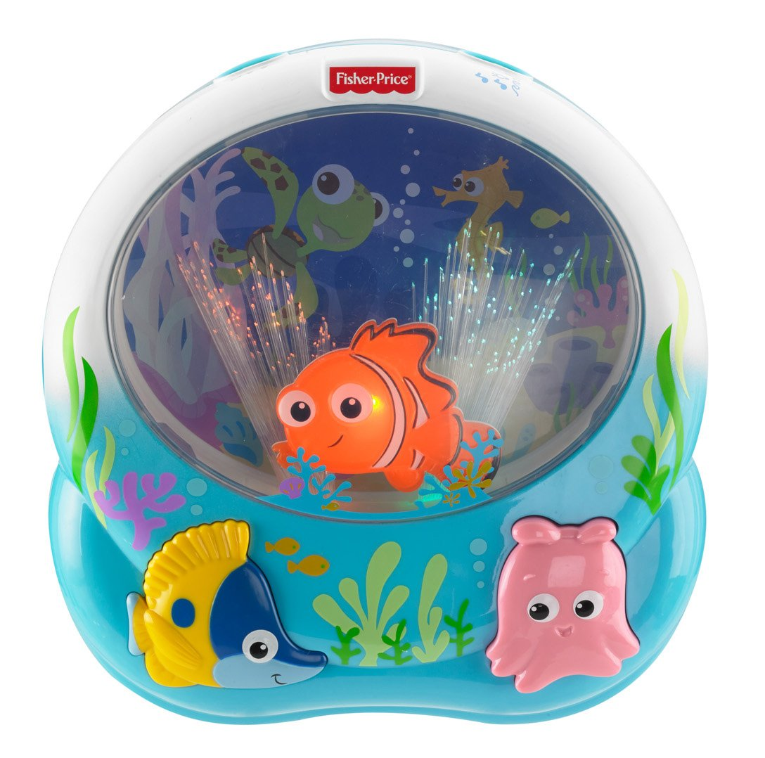Mattel Fisher Price Y Juguete musical para cuna diseño de Nemo