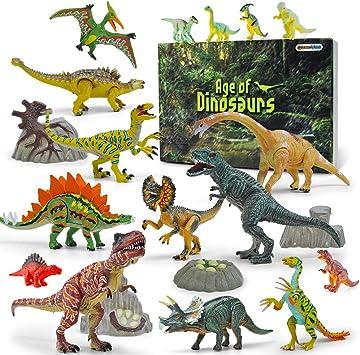 Gizmovine Dinosaurios Juguetes 20 Piezas Dinosaurios Figuras Educativo Realista Animales Juguetes Para Ninos 2 3 4 5 6 Anos Amazon Es Juguetes Y Juegos ¡juega en la prehistoria, controla un hombre de las cavernas, y vete de aventuras dino en uno de elige uno de nuestros juegos de dinosaurios gratis, y diviértete. gizmovine dinosaurios juguetes 20 piezas dinosaurios figuras educativo realista animales juguetes para ninos 2 3 4 5 6 anos