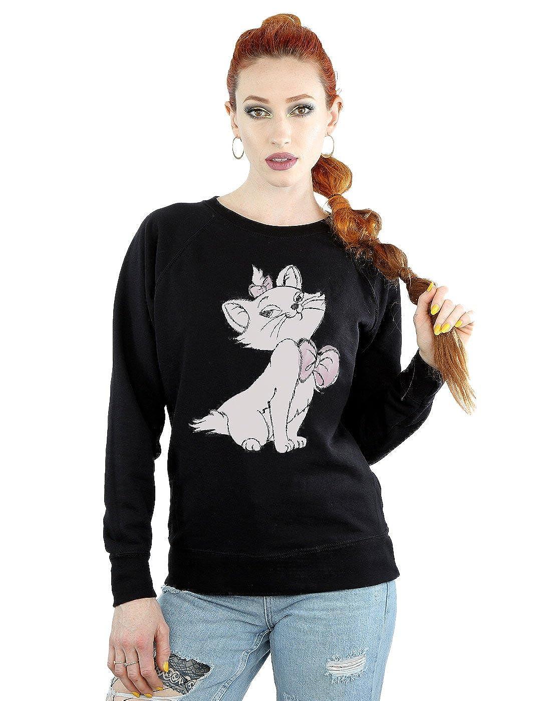 TALLA XXL. Disney mujer Aristocats Marie Camisa De Entrenamiento
