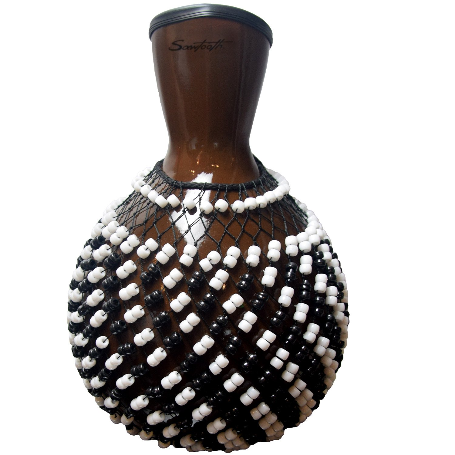 Sawtooth Beaded Shekere, Shaker (ST-SHEK) by Sawtooth