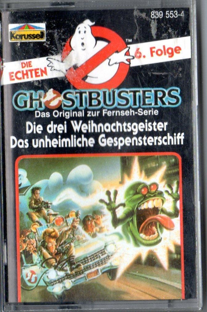 MC Kassette Die echten Ghostbusters # 6 - Die drei Weihnachtsgeister ...