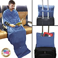 The Smart Blanket - Convenient Wearable Blanket - Travel, Home, Office Anywhere - Made in USA
