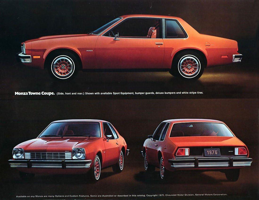 1975 Chevrolet Monza 2 2 Coupe Original Sales Brochure Catalog Other Car Manuals Parts Accessories Tamerindsa Com Ar