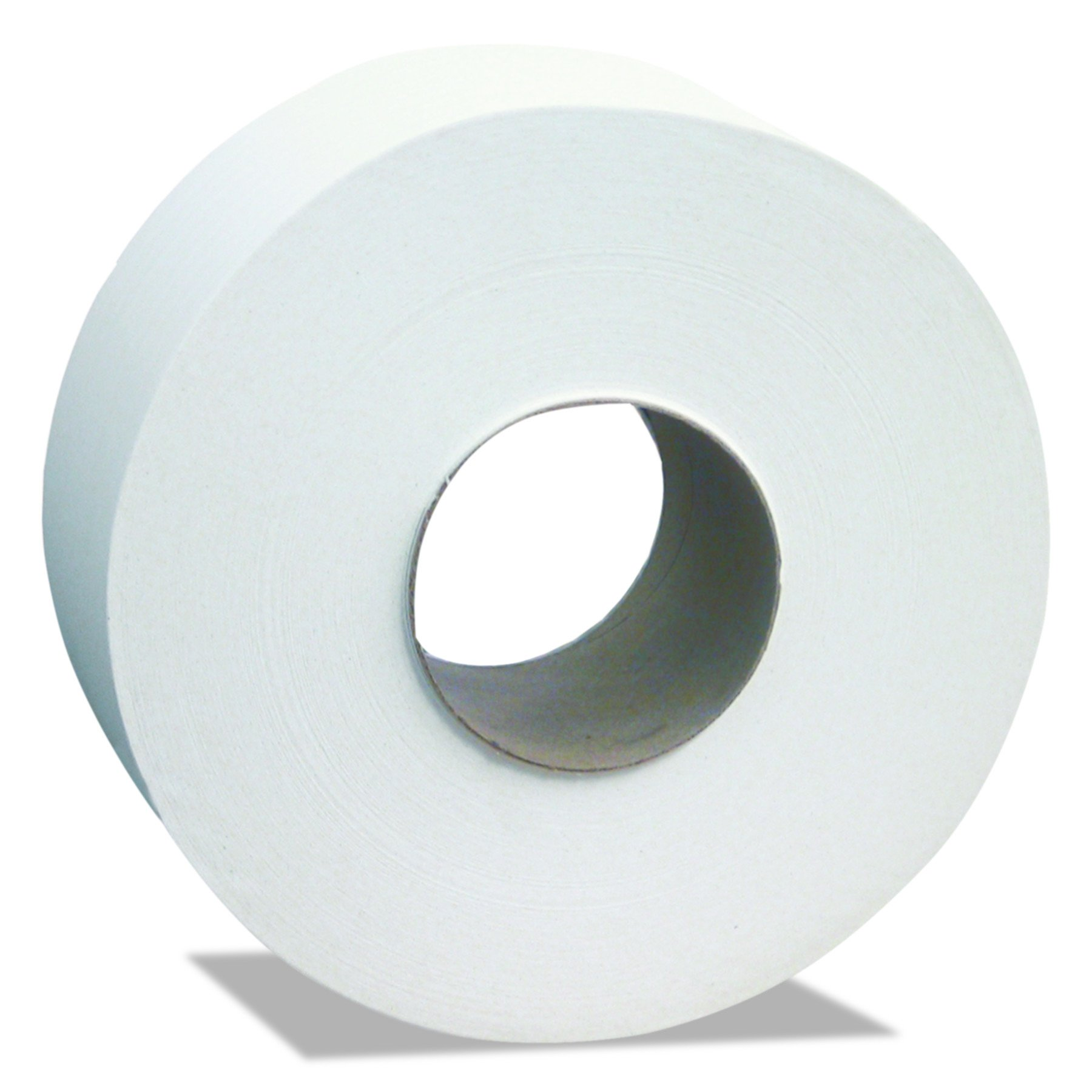 Cascades B240 North River Jumbo Roll Tissue, 2-Ply, White, 3 1/2'' x 1000' (Case of 12 Rolls)
