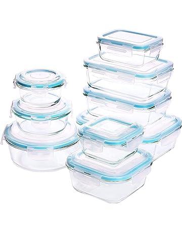 Amazon.es: Envases para alimentos: Hogar y cocina: Juegos de recipientes, Recipientes y mucho más