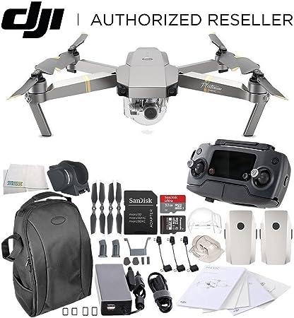 d828a1e509e DJI Mavic Pro Platinum Collapsible Quadcopter Essential Backpack Bundle