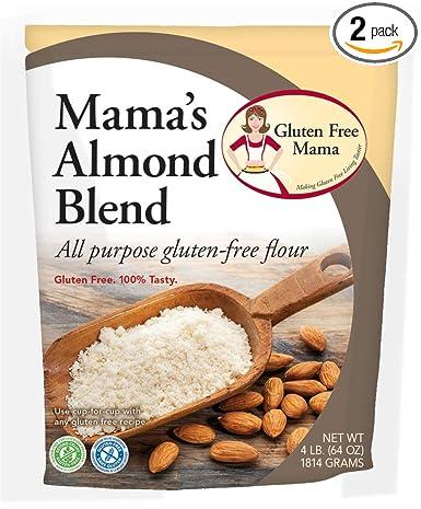 Amazon Com Gluten Free Mama Mama S Almond Blend Flour