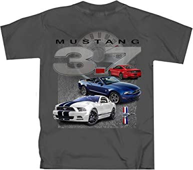 Joe Blow Ford 3 Mustangs with Pony T Shirt