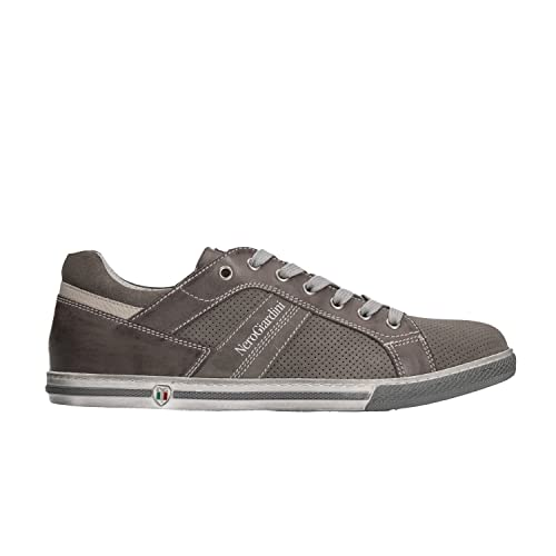 Nero Giardini Sneakers Scarpe Uomo Fumo 0254 P800254U 44  Amazon.it  Scarpe  e borse 03402e8ad04